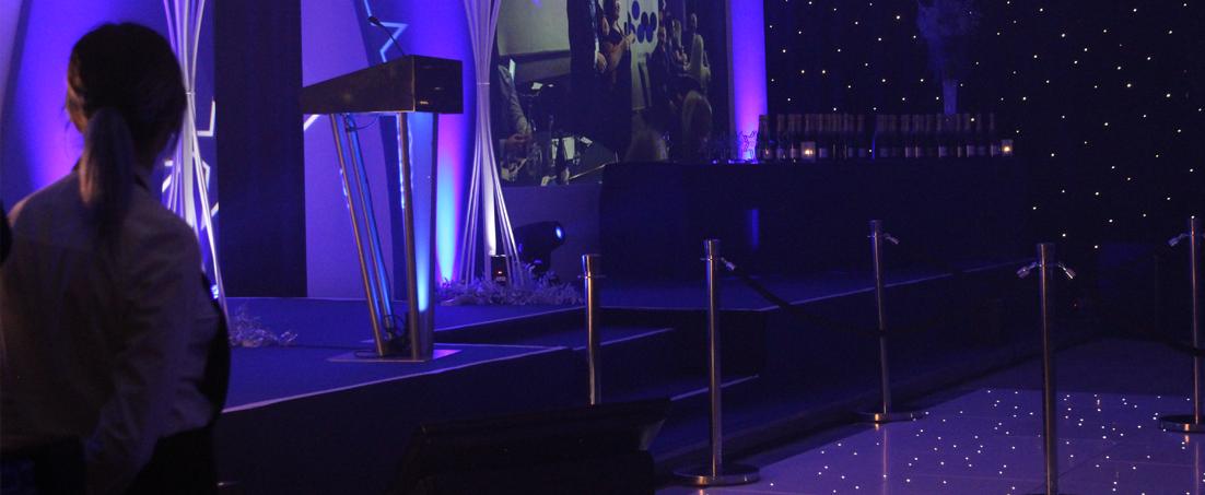 Corporate Awards Evening Leicestershire
