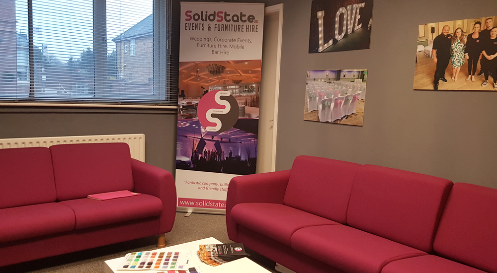 Solid State UK Events & Furniture Hire Meeting Room
