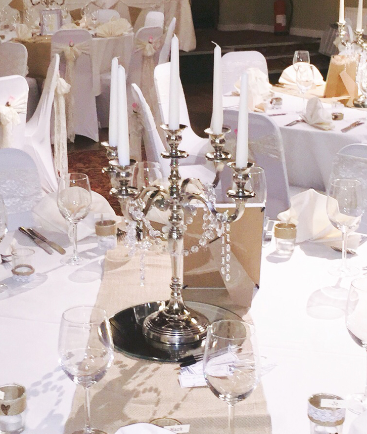 An image of a Candelabra, available for hire from Solid State UK.