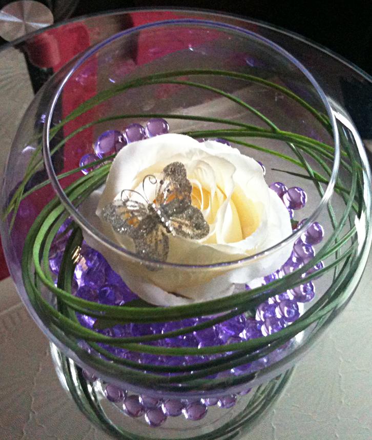 Glass Fish Bowl Decoration