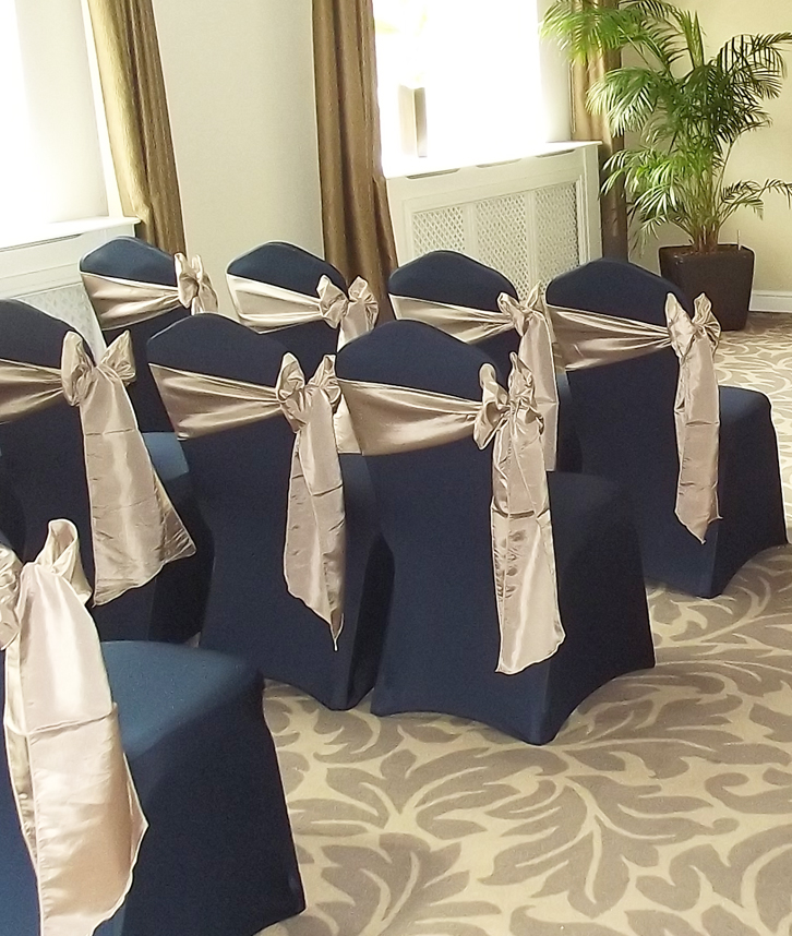 Navy Chair Covers