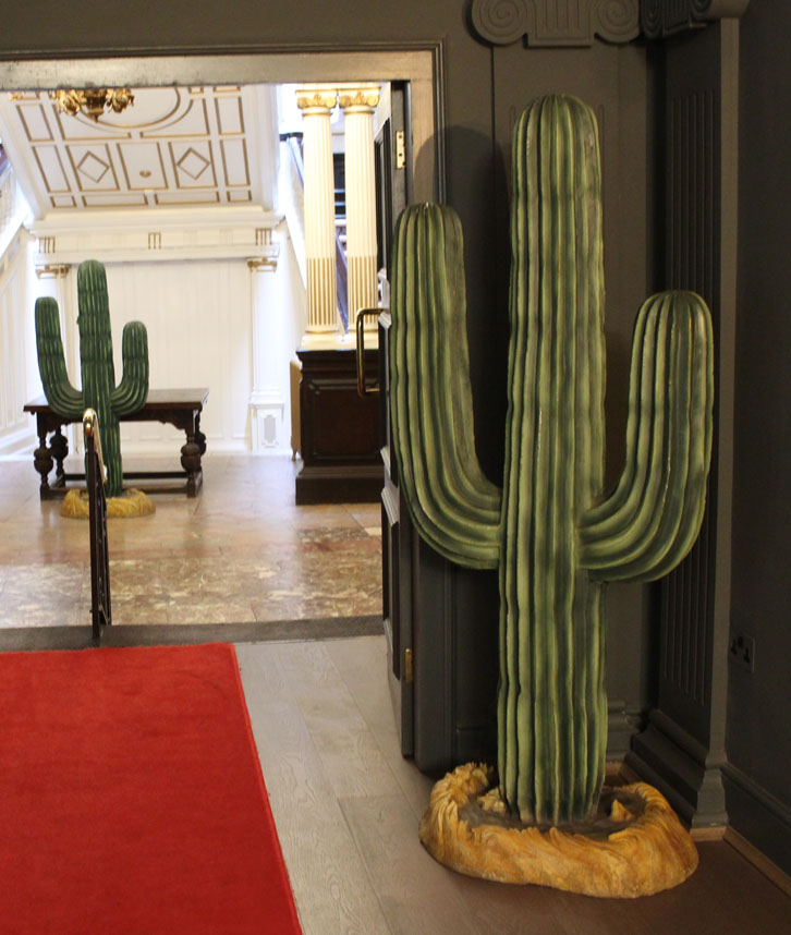 Cactus Themed Prop Hire