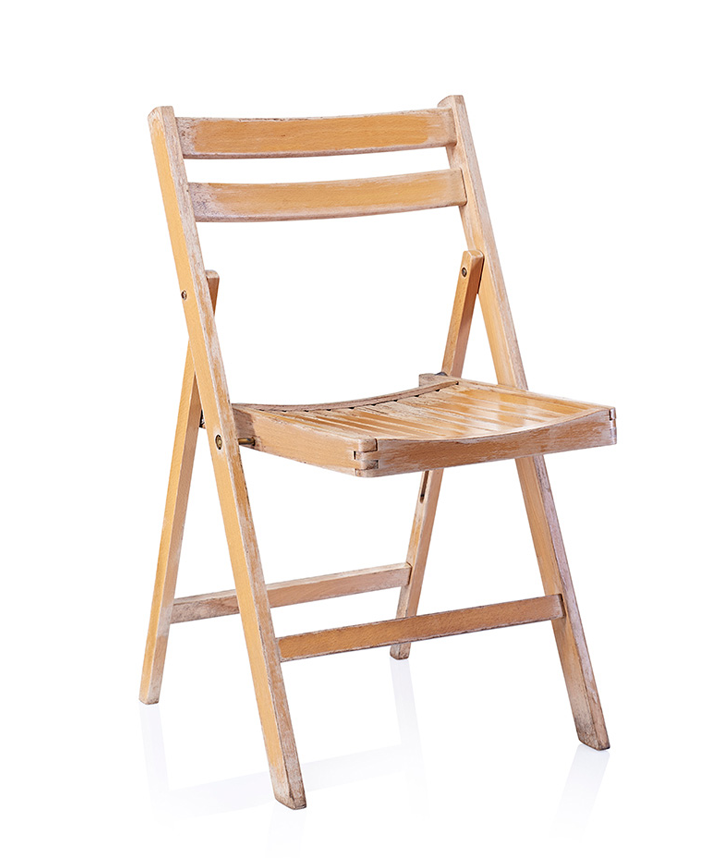 Wooden Folding Chair in Leicester