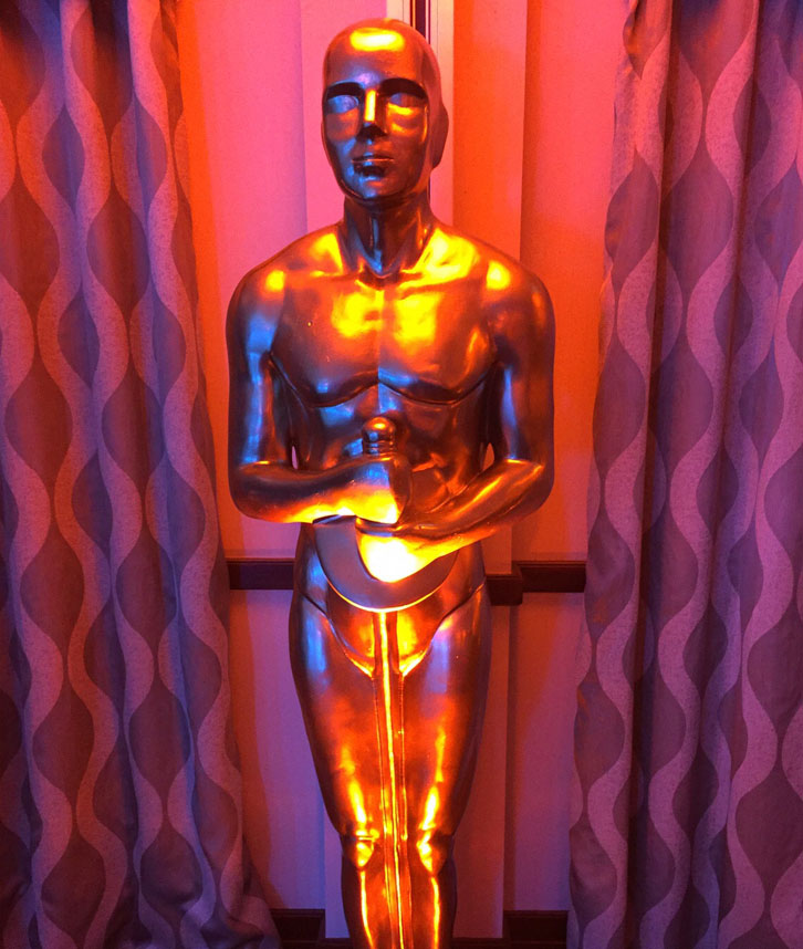 Golden Oscar Prop Hire