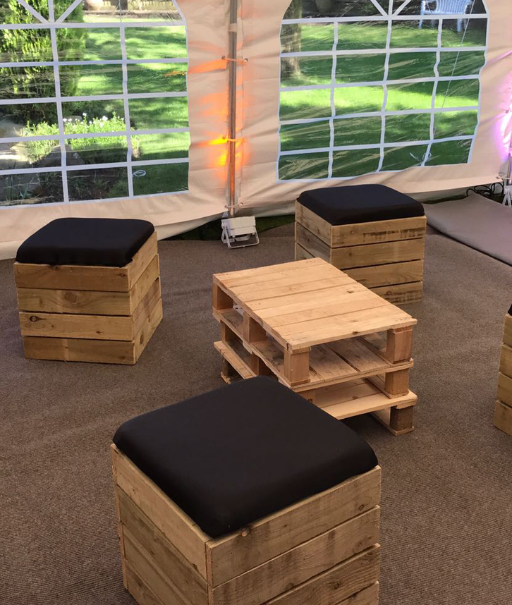 Pallet Furniture Hire In The Midlands Solid State Uk