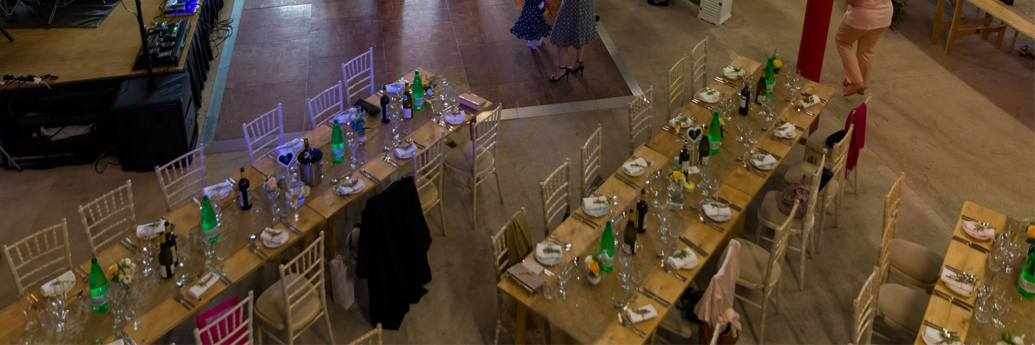 Rustic Trestle Table Hire Leicester
