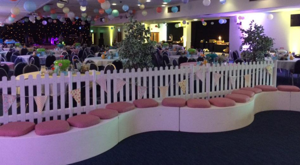 VIP Curved Seating Hire Leicestershire