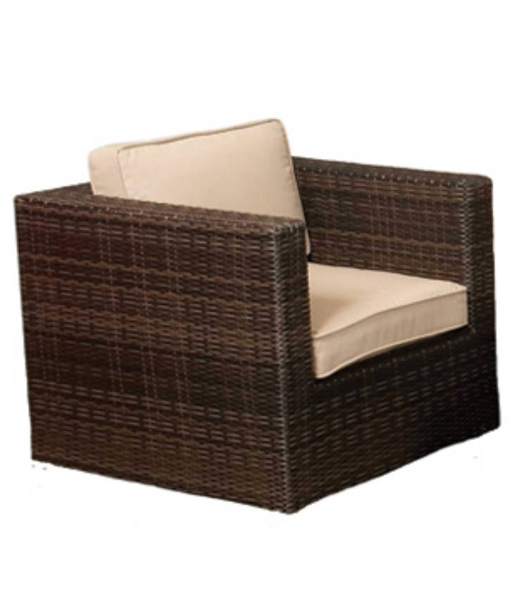 An image of a rattan chair that can be hired from Solid State UK for parties, events, weddings and conferences