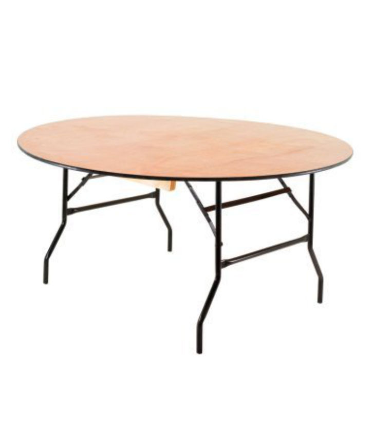 An image of a round table which can be used for parties and conferences.