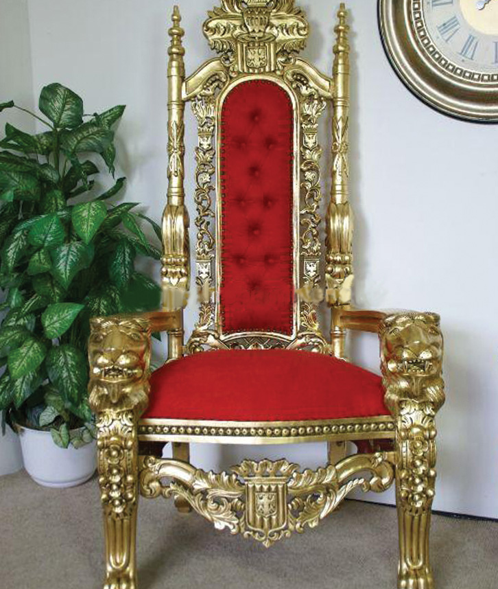 Throne chair cover