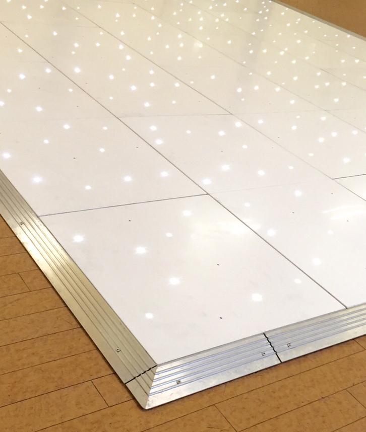 White Starlight Dance Floor