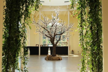 LED Blossom Tree - Stapleford Park Hotel