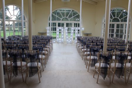 Limewash Chiavari Chairs At A Wedding