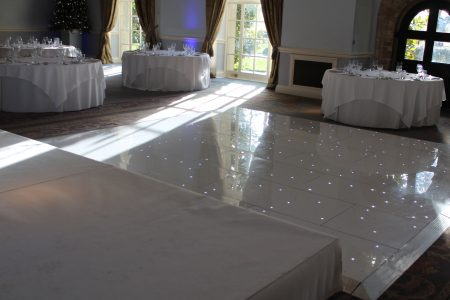 White Wedding Stage Hire
