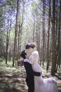An image of a wedding photo from a professional wedding photographer.