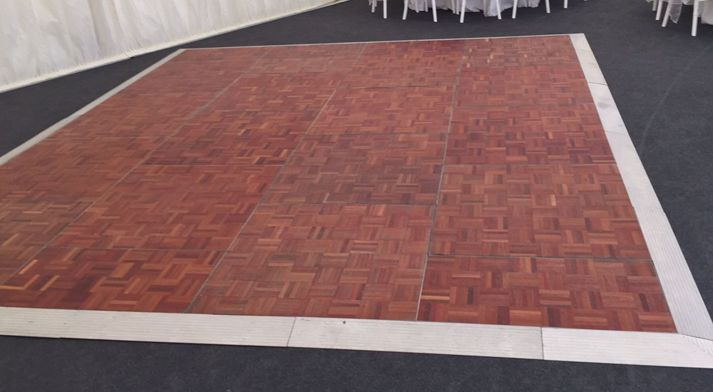Parquet Dance Floor Hire in Leicester, Coventry & Derby