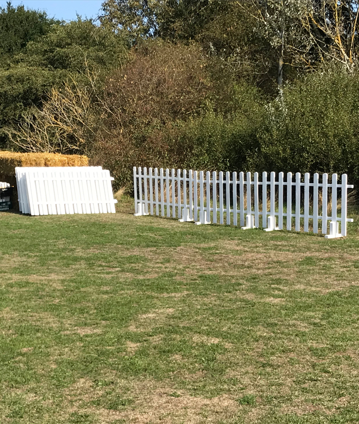 White Picket Fencing Hire in Leicester