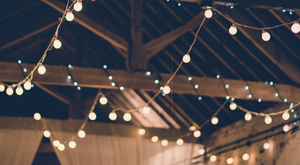 Festoon Lighting Hire in Leicester