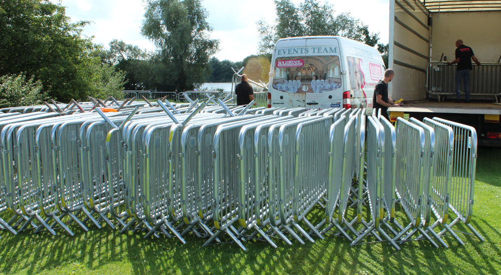 Crowd Control Event Barriers Hire in the Midlands