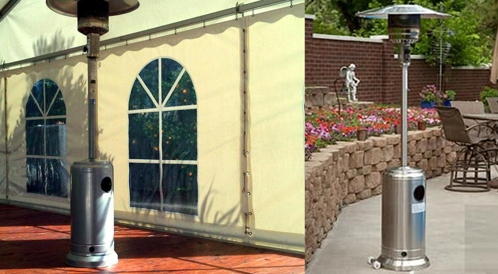 Outdoor patio heater hire in the midlands