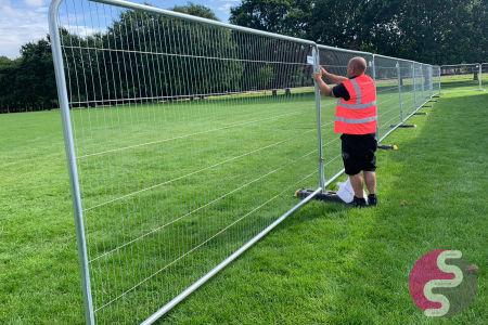 Security Heras Fencing Hire Leicester